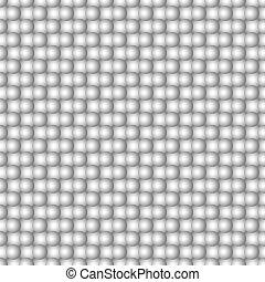 esferas, abstratos, seamless, padrão