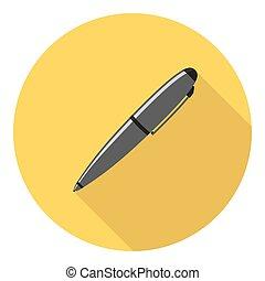 esferográfica, desenho, caneta