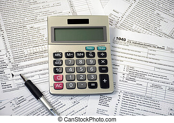 esferográfica, imposto, calculadora, forma, caneta