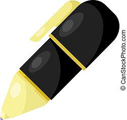 esferográfica, pen., eps10