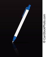 esferográfica, pretas, caneta