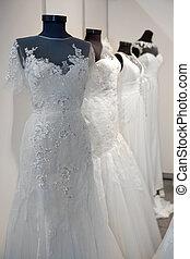 esküvő öltözködik, bolt