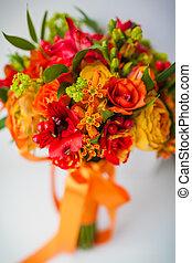 esküvő bouquet