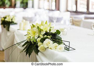 esküvő, dekoráció