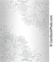esküvő invitation, háttér