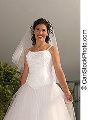 esküvő, menyasszony