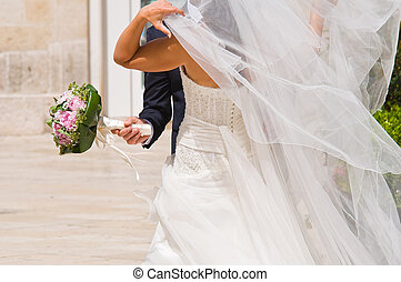 esküvő, párosít.