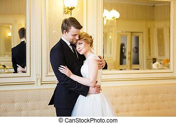 esküvő párosít, szobai