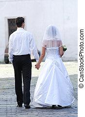 esküvő, vidám párosít