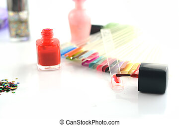 esmalte uñas, resplandor