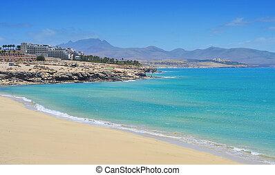 esmeralda, fuerteventura, スペイン, playa, カナリア諸島