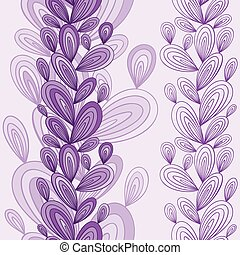 esotico, floreale, seamless, pattern.
