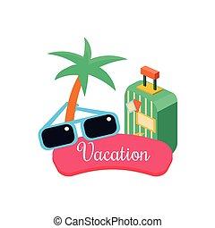 Vacanza esotica illustrazione vettoriale cerca clip art for Piani domestici in stile hawaiano