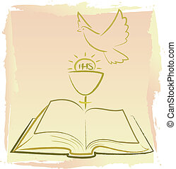 espírito, comunhão, santissimo, -, primeiro