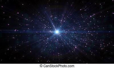 espaço, estrela, galáxia