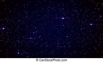 espaço, estrelas, céu