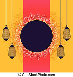 espaço, festival, texto, criativo, eid, fundo