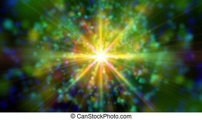 espaço, galáxia, abstratos