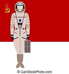 espaço, soviético, sokol, kv-2., paleto