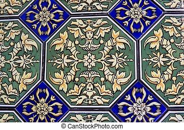 español, mosaico