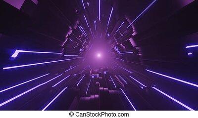 espace, 3d, portail, vj, sombre, uhd, puissance, boucle, ...