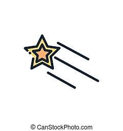 espace, astromomie, galaxie, étoile, tir