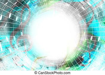 espace, couleur, notes, space., résumé, stars., musique, ...