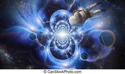 espace, fractal