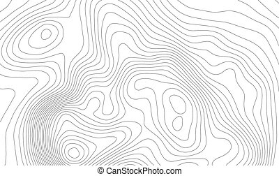 espace, piste, randonnée, copy., carte, topographie, montagne, art, ordinateur a engendré, vecteur, design., forme, topographique, contour, ton, fond, lignes, concept
