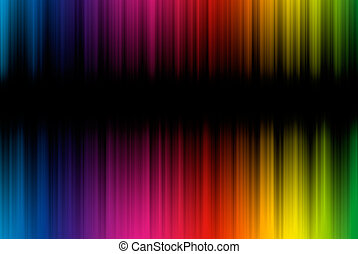 espace, résumé, lignes, spectre, fond, copie