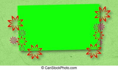 espaces, chroma, fleurs, clã©