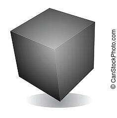 espacio, cubo