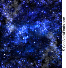 espacio exterior, profundo, plano de fondo