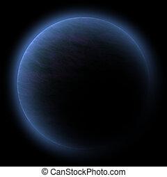 espacio, planeta