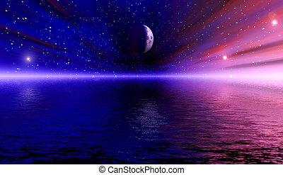 espacio, visión