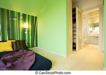 espacioso, dormitorio