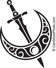 espada, arma antigua, diseño