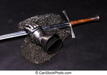 espada, armadura