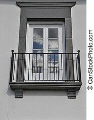 espagnol, balcon