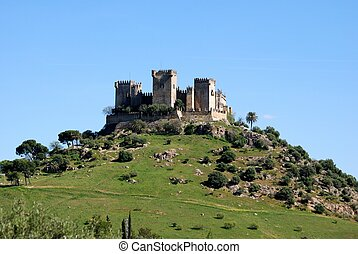 Espanha,  del,  almodovar,  Rio, castelo
