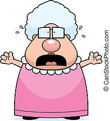 espantado, abuelita