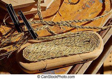 Esparto halfah grass used for crafts basketry - Esparto...
