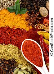 especia, condimento, ingredientes
