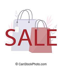 especial, decoración, colorido, oferta, venta, discount., almacene compras, bags.