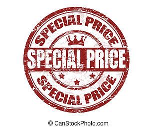 especial, precio, estampilla