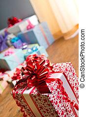 especial, regalo, primer plano