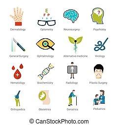 especialidades médicas, jogo