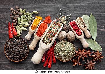 especias, mezcla
