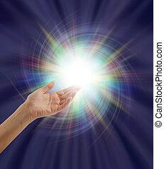 espectacular, divino, luz