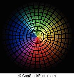 espectro, célula